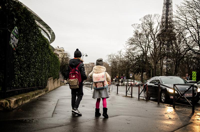 Paryż droga do szkoły