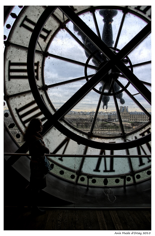 muzeum orseya zegar